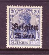 German Occupation Belgium N 18   ** - Occupation 1914-18