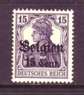German Occupation Belgium N 16  ** - Occupation 1914-18