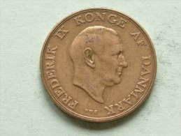 1947 NS - 1 Krone / KM 837.1 ( Uncleaned - For Grade, Please See Photo ) ! - Danemark