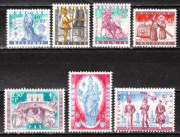 1082/88*  Folklore Belge - Série Complète - MH* - LOOK!!!! - Belgique