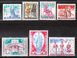 1082/88*  Folklore Belge - Série Complète - MH* - LOOK!!!! - Belgium