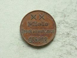 XX MIELE Trockenautomat 685808 ( Uncleaned - For Grade, Please See Photo ) ! - Professionnels/De Société