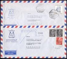 ESPAGNE  LOT De 24 Lettres     Beaucoup Pour FRANKFURT Allemagne    Pour   PAR AVION - Espagne