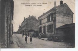 Bussieres Rue Neuve Postes Et Telegraphes - Otros Municipios