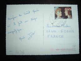 CP POUR LA FRANCE TP  150L OBL. - Lettres & Documents