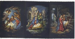 A117 - Natale Noel Weihnachten Christmas Houx , 6 Cartoline Nuove. Edizione Saemee - Natale