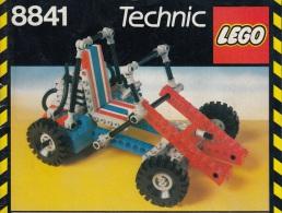 Lego 8841 Technic Buggy Avec Plan 100 % Complet Voir Scan - Lego Technic
