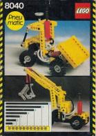 Lego 8040 Technic Set Pneumatique Avec Plan 100 % Complet Voir Scan - Lego Technic
