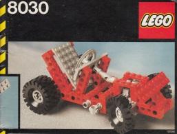 Lego 8030 Technic Gocart Avec Plan 100 % Complet Voir Scan - Lego Technic