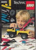 Lego 8889 Technic Livre D´idées Seulement Le Code Barre Manque Au Fin Voir Scan - Planos