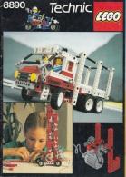 Lego 8890 Technic Livre D´idées 100 % Complet Voir Scan - Planos