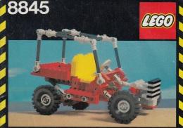 Lego 8845 Technic Buggy Avec Plan 100 % Complet Voir Scan - Lego Technic