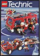 Lego 8280 Technic Camion Sapeur-Pompiers Avec Plan 100 % Complet Voir Scan - Lego Technic