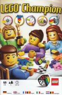 Lego 3861 Jeu Lego Champion Avec Plan, Règles Et Boîte 100 % Complet Et Comme Neuve Voir Scan - Lego System