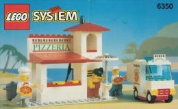 Lego 6350 Pizzeria Avec Plan Sans Autocollants Voir Scan - Lego System