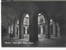1965 CAMERINO PORTICO DELL'EX PALAZZO DUCALE FG V SEE 2 SCANS ANIMATA - Italia