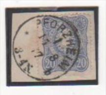 EMPIRE 1875-77 YT N° 33 Oblitéré - Allemagne