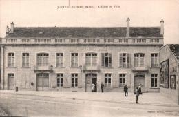52 JOINVILLE L'HOTEL DE VILLE  CIRCULEE 1917 - Joinville