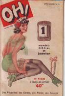 Revue Mensuelle OH N° 16 De Janvier 1950 Journal Humoristique Dessins Contes Potins - Humor