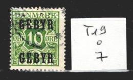Danemark Taxe 19 Oblitéré Côte 7 € - Port Dû (Taxe)