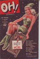 Revue Mensuelle OH N° 3 De 1948 Journal Humoristique Dessins Contes Potins - Humor