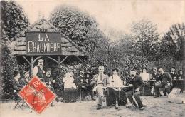 ��   -  Carte non Situ�e   -  LA CHAUMIERE   -  Caf� , Restaurant dans une For�t   -  ��