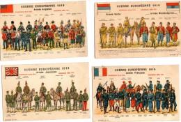 Armée Française- Armée Serbe - Armée Monténégrine-Armée Anglaise -Armée Japonaise - France