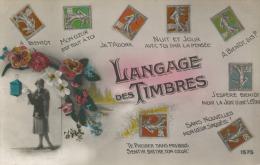 LANGAGE DES TIMBRES RARE SEMEUSE TE PRESSER DANS MES BRAS SENTIR BATTRE TON COEUR 1575 - Stamps (pictures)