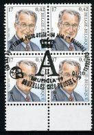 (B) 2840 MNH** FDC 1999 - Z.M. Koning Albert II. (4 Stuks) - Unused Stamps