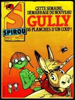 "SPIROU N° 2457 -  Année 1985  - Couverture "" GULLY "" De DODIER Et MAYKO. - Spirou Magazine"
