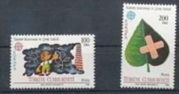 CEPT 1986 Turquie Turkije Yvertn° 2494-95 *** MNH Cote 27 Euro - Europa-CEPT