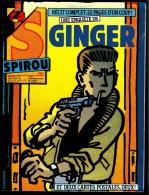 "SPIROU N° 2464 -  Année 1985  - Couverture "" GINGER "" De JIDEHEM. - Spirou Magazine"