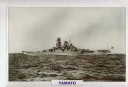 Japon 1940, Super-cuirassé YAMATO, Au Dos Renseignements  Divers (b21) - Bateaux