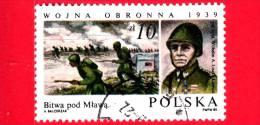 POLONIA - POLSKA - Nuovo Obliterato - 1985 - Invasione Della Polonia - Attacco A Mlawa - Liszka-Lawicz - 10 - 1944-.... Repubblica