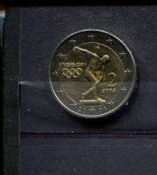 GRIEKENLAND MUNTSTUK 2 EURO ATHENE 2004 - Grèce