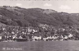 SWITZERLAND -  ZUG MIT ZUGERBERG - ZG Zug