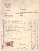 PUY DE DÔME - CLERMONT FERRAND - IMPRIMERIE - EDITIONS - PAUL VALLIER - 1945 - Imprimerie & Papeterie