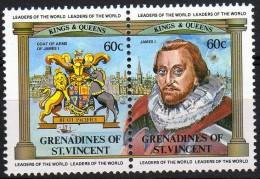 Granadines & S. Vincent - Re E Regine - St.Vincent E Grenadine