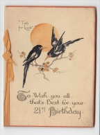 C1900 WISH YOU ALL THE BEST FOR YOUR 21ST BIRTHDAY - Geburtstag
