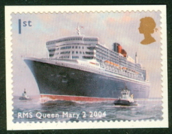 GB Self Adhesive  BOOKLET STAMP - 2004  OCEAN LINERS (Queen Mary) - Libretti