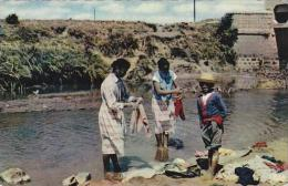 Madagascar Tananarive Women Washing Clothes Real Photo