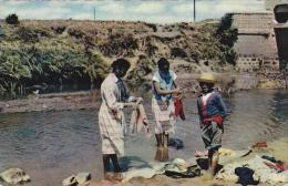 Madagascar Tananarive Women Washing Clothes Real Photo - Madagascar
