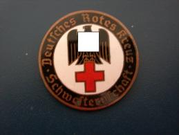 Abzeichen Deutsches Rotes Kreuz Schwesternschaft - Steyr - 2. Weltkrieg - Sehr Selten - Non Classés