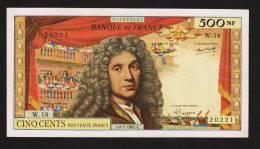 500 NOUVEAUX FRANCS MOLIERE Du 8/01/195 Fayette 60.8 - 1959-1966 ''Nouveaux Francs''
