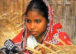 BANGLADESH Photo Orchidees Ciric, Visage De Jeune Fille, Fabrication De Panier? - Bangladesh