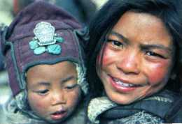 Enfants Tibetains Du LADAKH Photo Anne Et Erik Lapied - Tibet