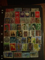 A Collection Of Used Stamps - Ireland