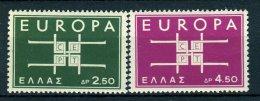 Grèce** N° 779/780 - Europa 1963 . - Greece