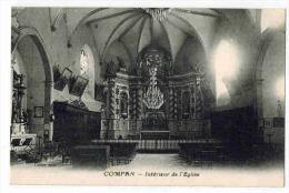 """CAMPAN  :    """" Intérieur De L' Eglise """" - Campan"""