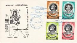 HAITI 1965 INAUGURATION AEROPORT PORT AU PRINCE AIRPORT FLUGHAFEN  AVION PLANE PISTE - Haïti